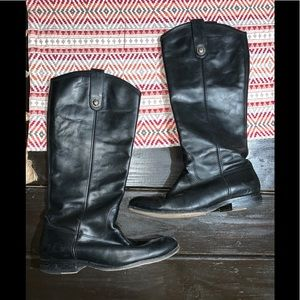 Frye leather boots size 8.5